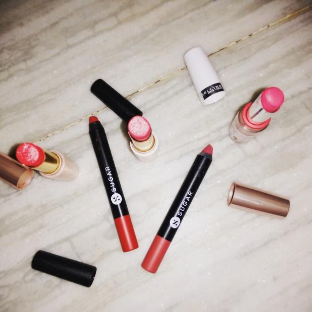 My top 5 favorite lipsticks