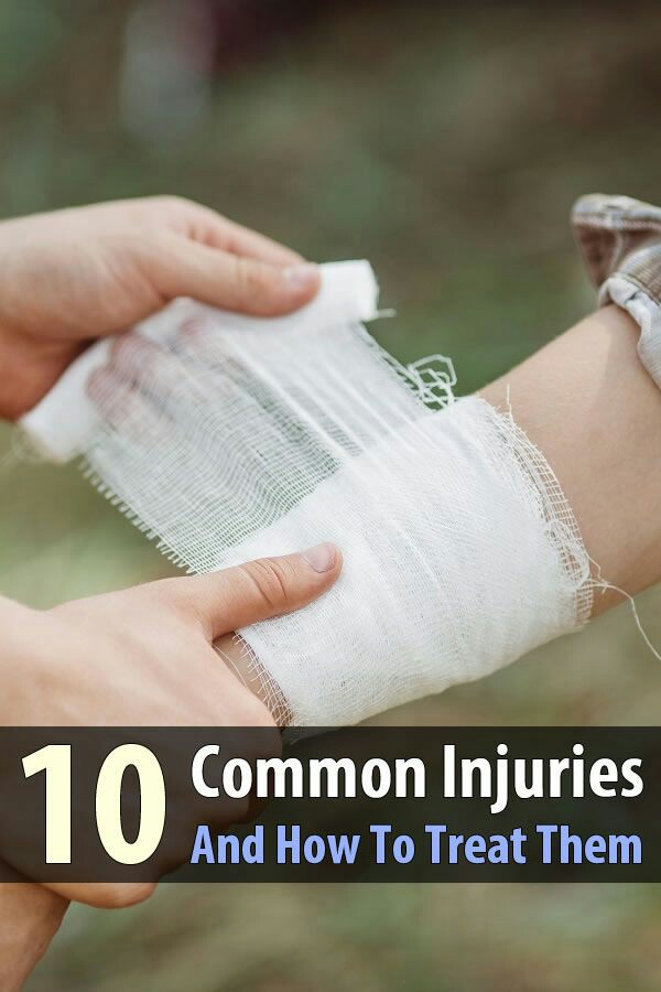 10 common injuries and how to give first aid