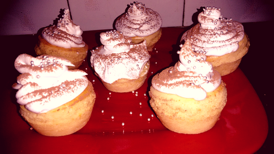 christmas special peanut butter cupcakes